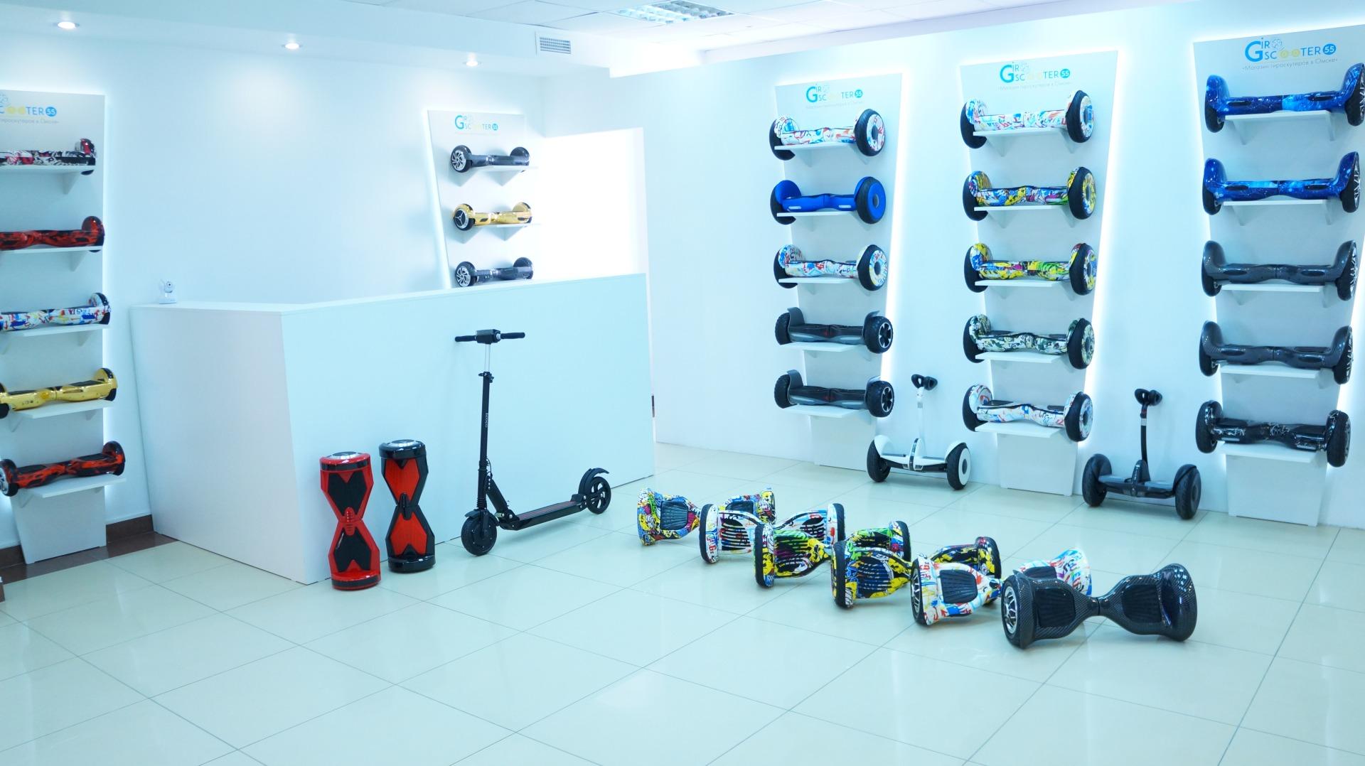 Первый магазин гироскутеров в Омске